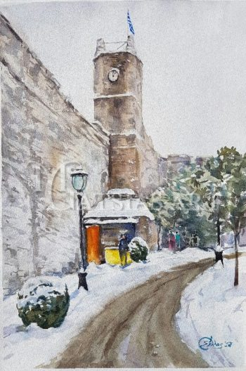 Winter clock – ioannina